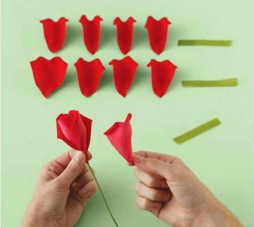 Как сделать розу своими руками пошаговое фото